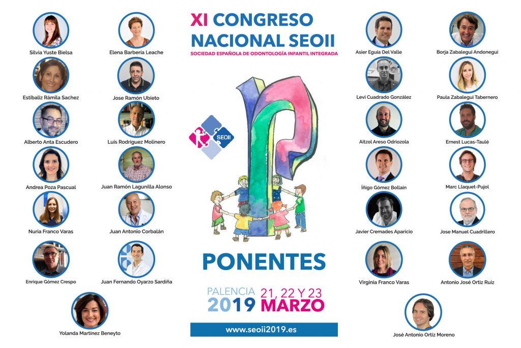 Orla ponentes XI Congreso Nacional de la Sociedad Española de Odontología Infantil Integrada