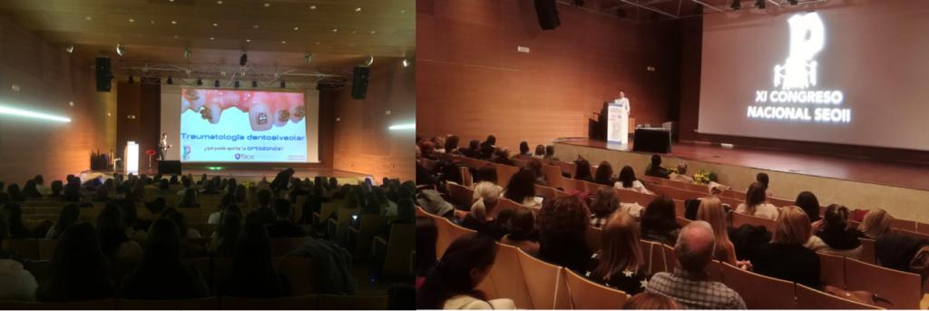 XI Congreso Nacional de la Sociedad Española de Odontología Infantil Integrada - Asistencia Multitudinaria a las conferencias